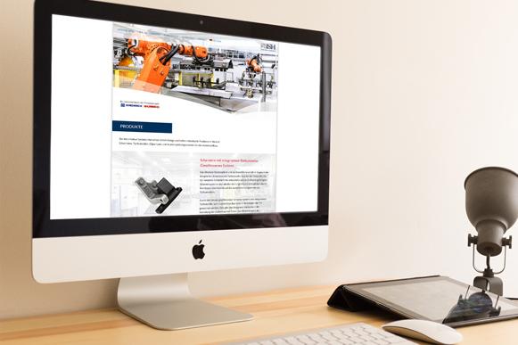 Unsere neue ISH Firmenwebsite ist online